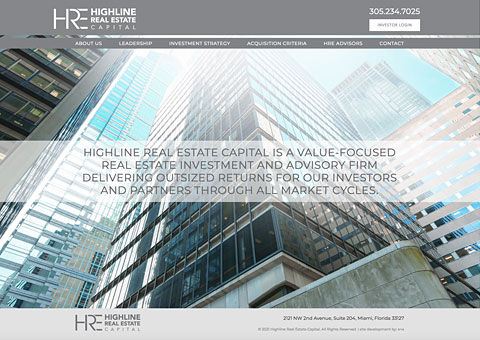 highline real estate capital