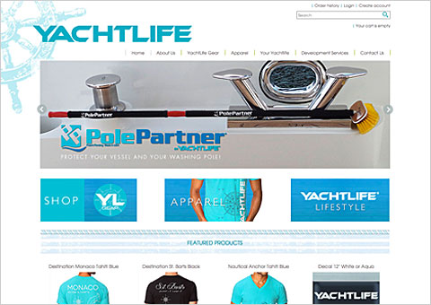 youryachtlife e-commerce