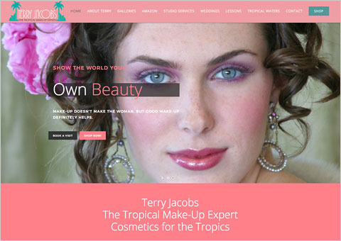 Terry Jacobs Cosmetics for the Tropics