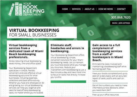 Your Bookkeeping Department